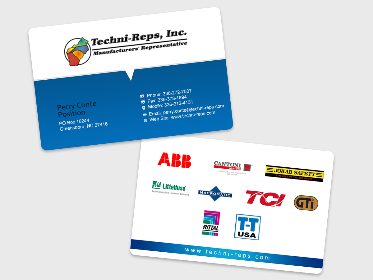 41 Bold Professional Industrial Business Card Designs for a ...