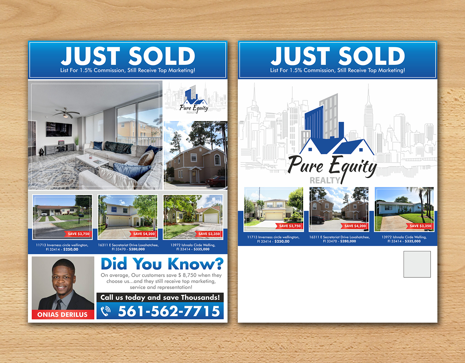 real estate flyer design for a company by ecorokerz design 17832453