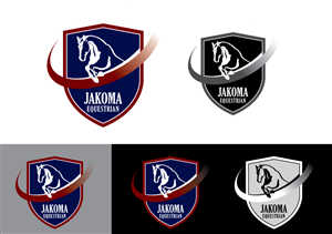 Logo Design by GzP67 - Jakoma Equestrian showjumping stable