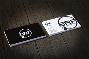Elegant playful logo and business card design job logo for Electrician business card ideas