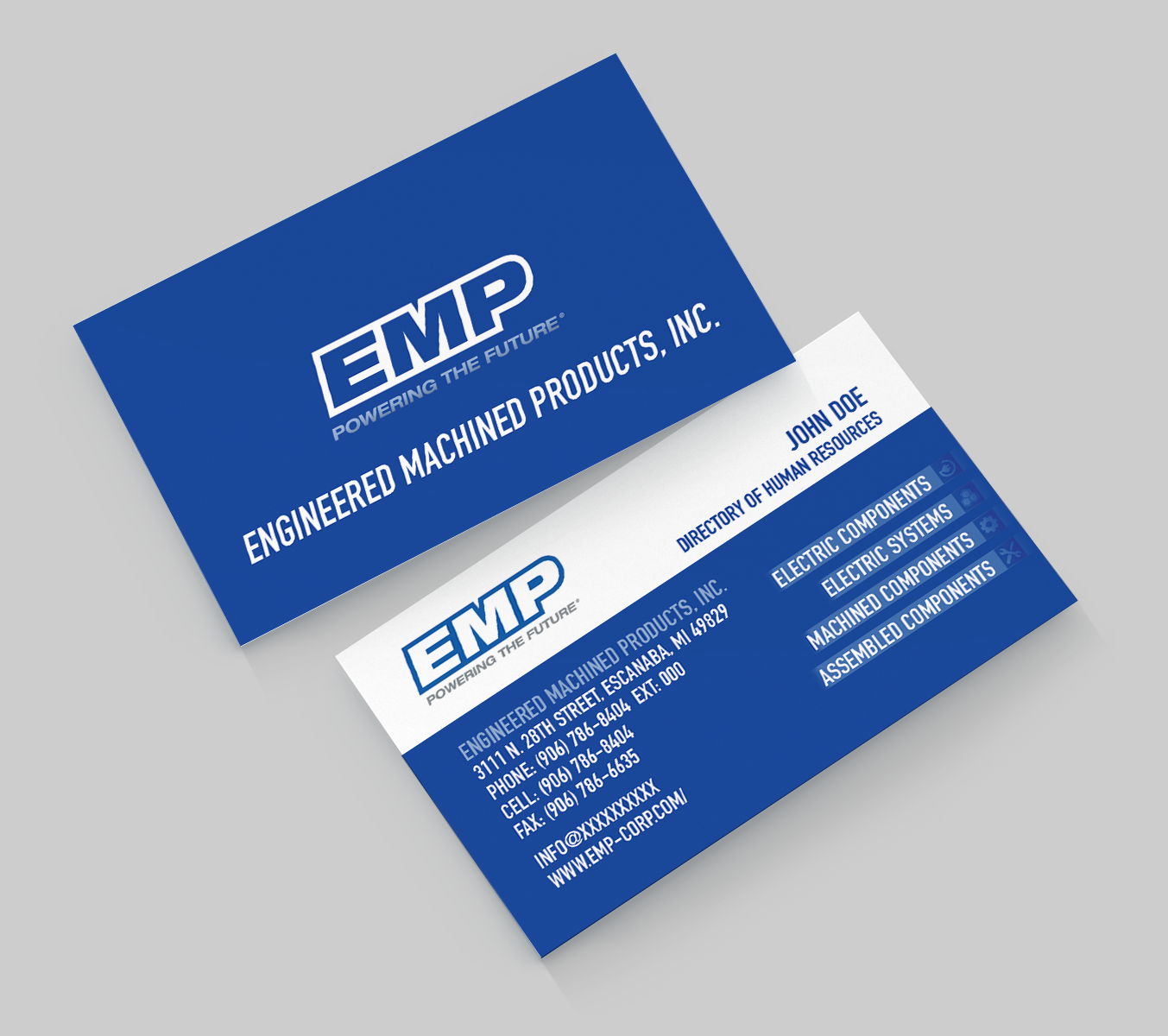 Bold, Serious, Engineering Business Card Design for Engineered ...