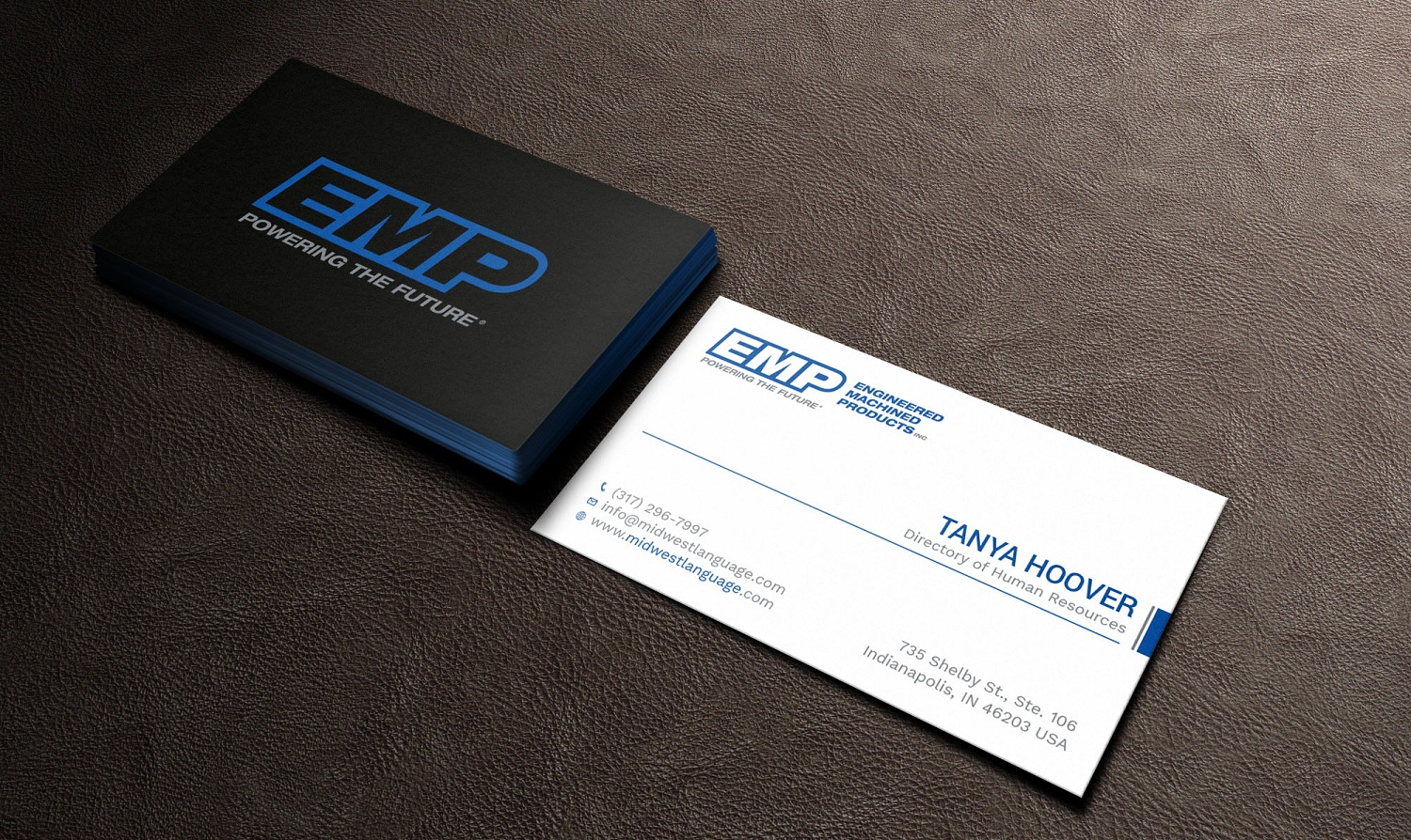 Bold serious engineering business card design for engineered bold serious engineering business card design for engineered machined products inc in united states design 17742642 reheart Choice Image