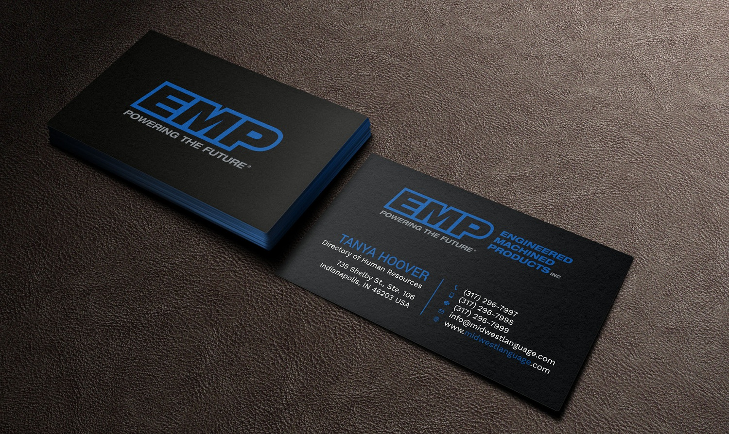 Bold serious engineering business card design for engineered bold serious engineering business card design for engineered machined products inc in united states design 17745054 reheart Choice Image