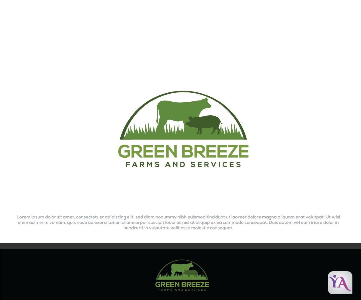 Modern, Bold, Agriculture Logo Design For Green Breeze