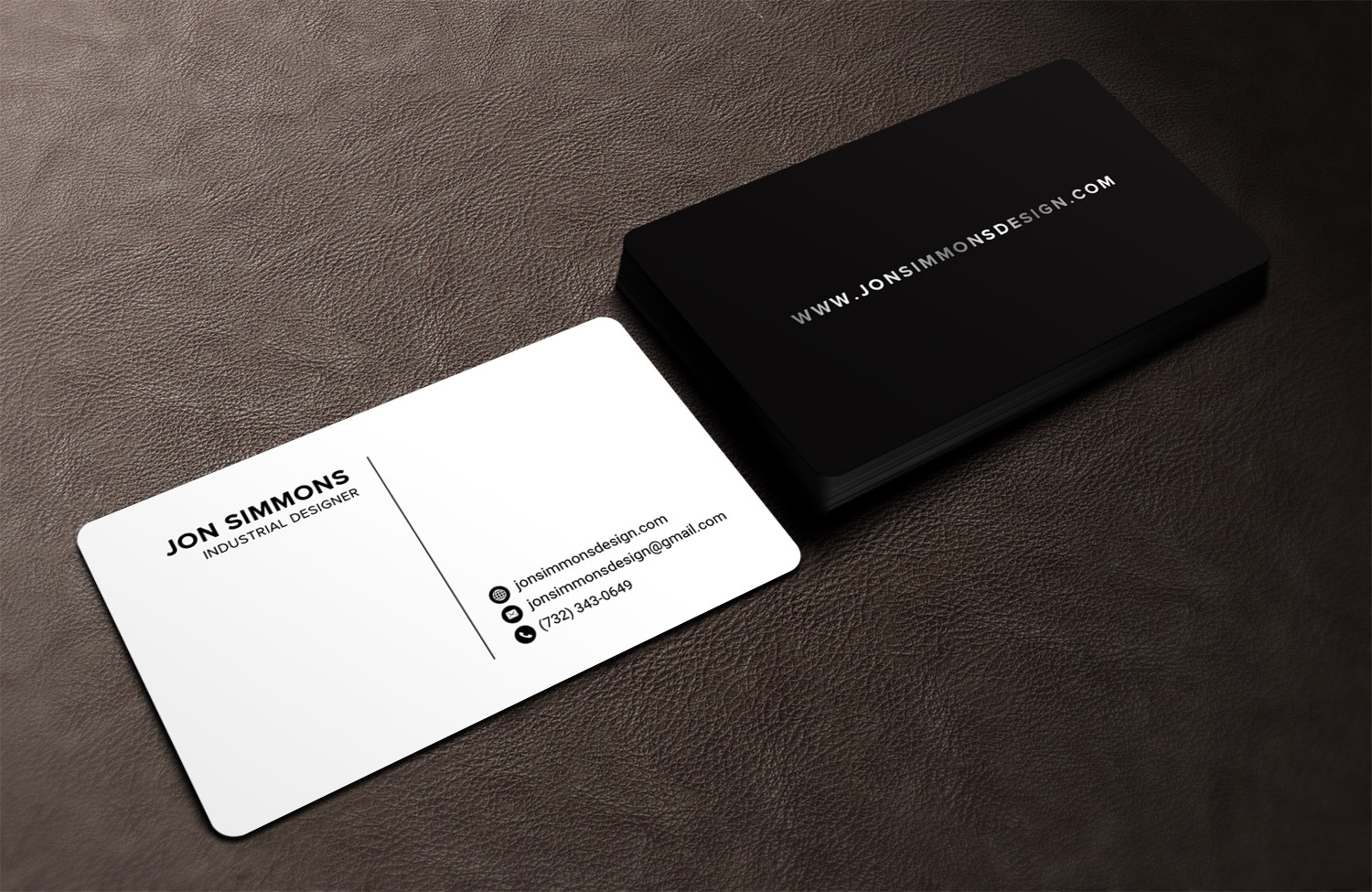 Upmarket, Serious Business Card Design for Jonathan Simmons by ...