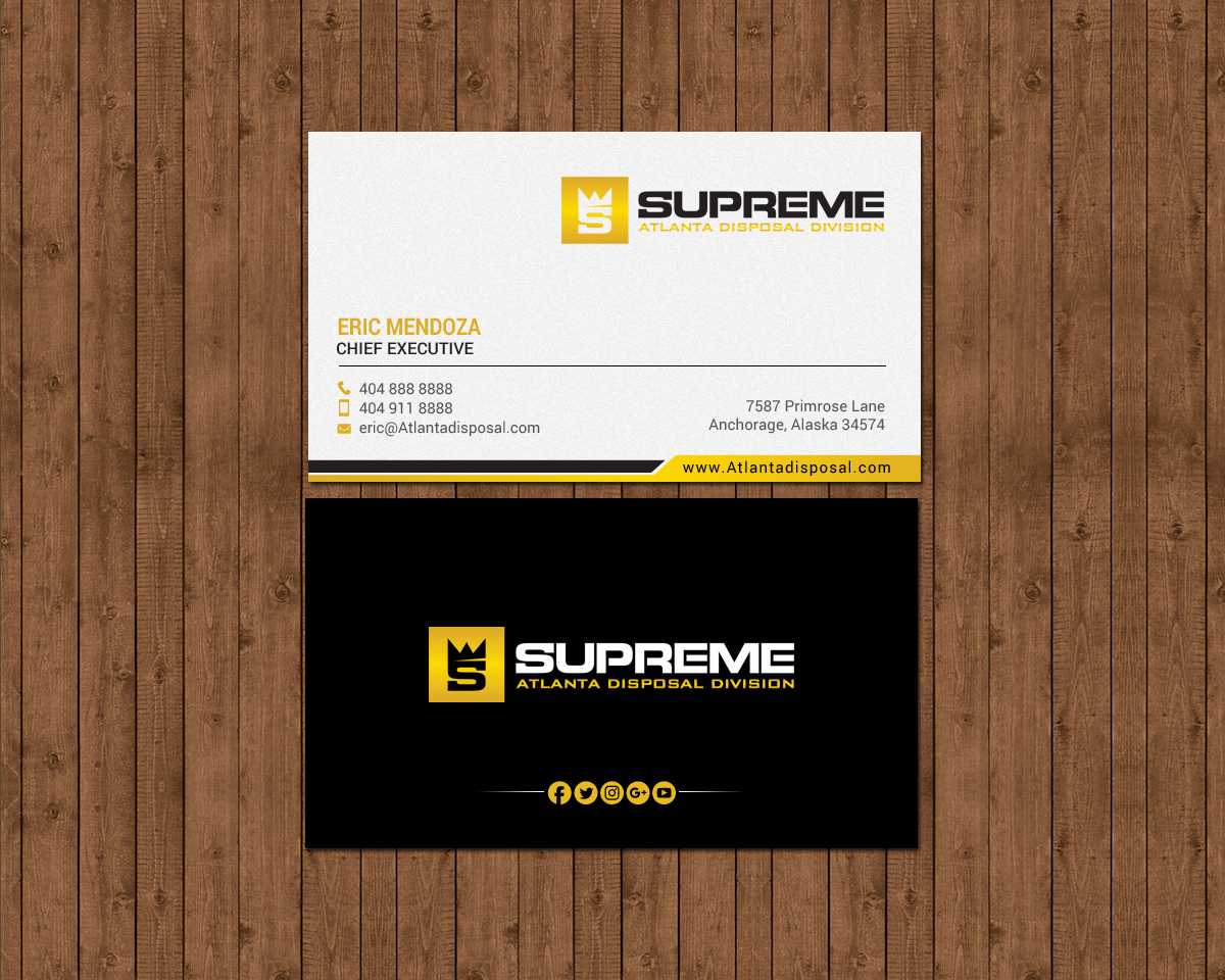 Business Card Design By Chandrayaancreative For This Project