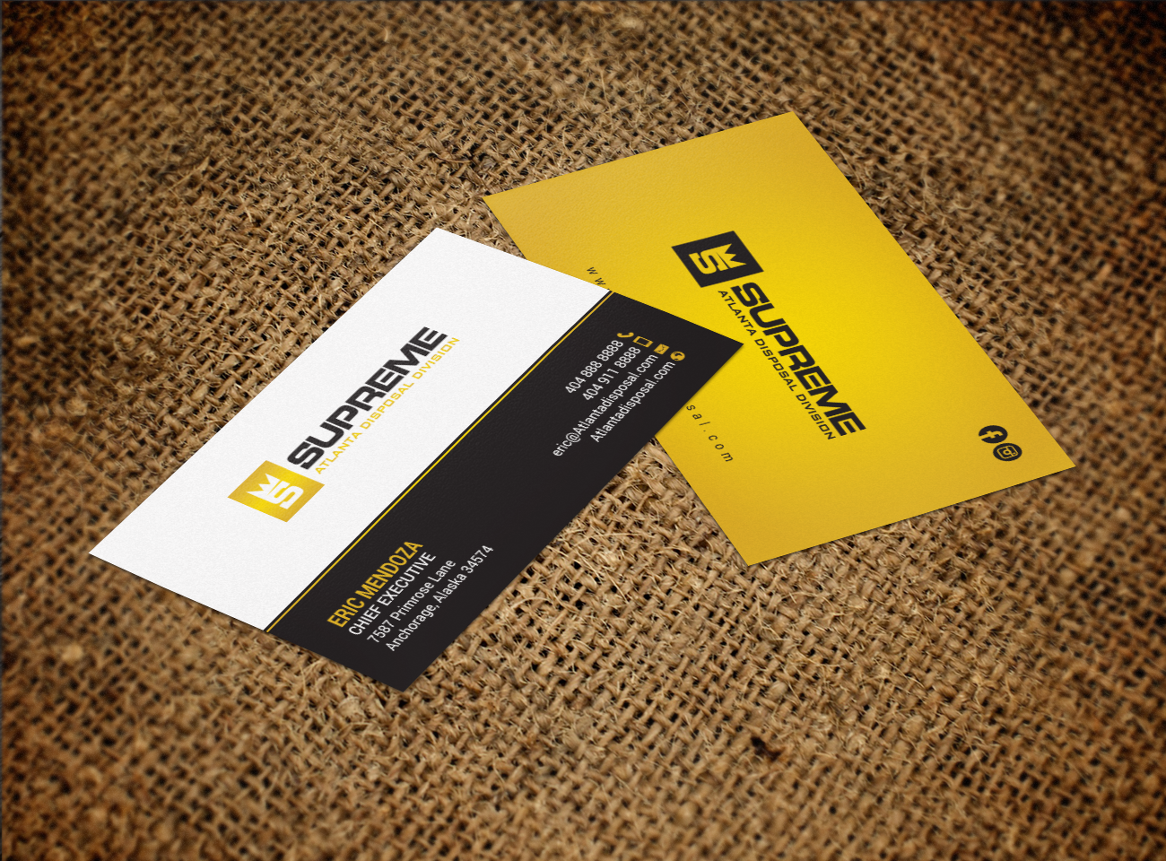 Professional modern construction business card design for a business card design by chandrayaaneative for this project design 17789389 reheart Image collections