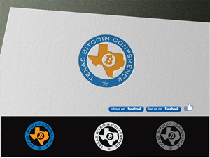 Logo Design by costur - Logo for Texas Bitcoin Conference
