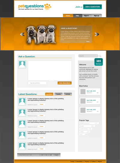 Funky Concreter Wordpress Design 46948