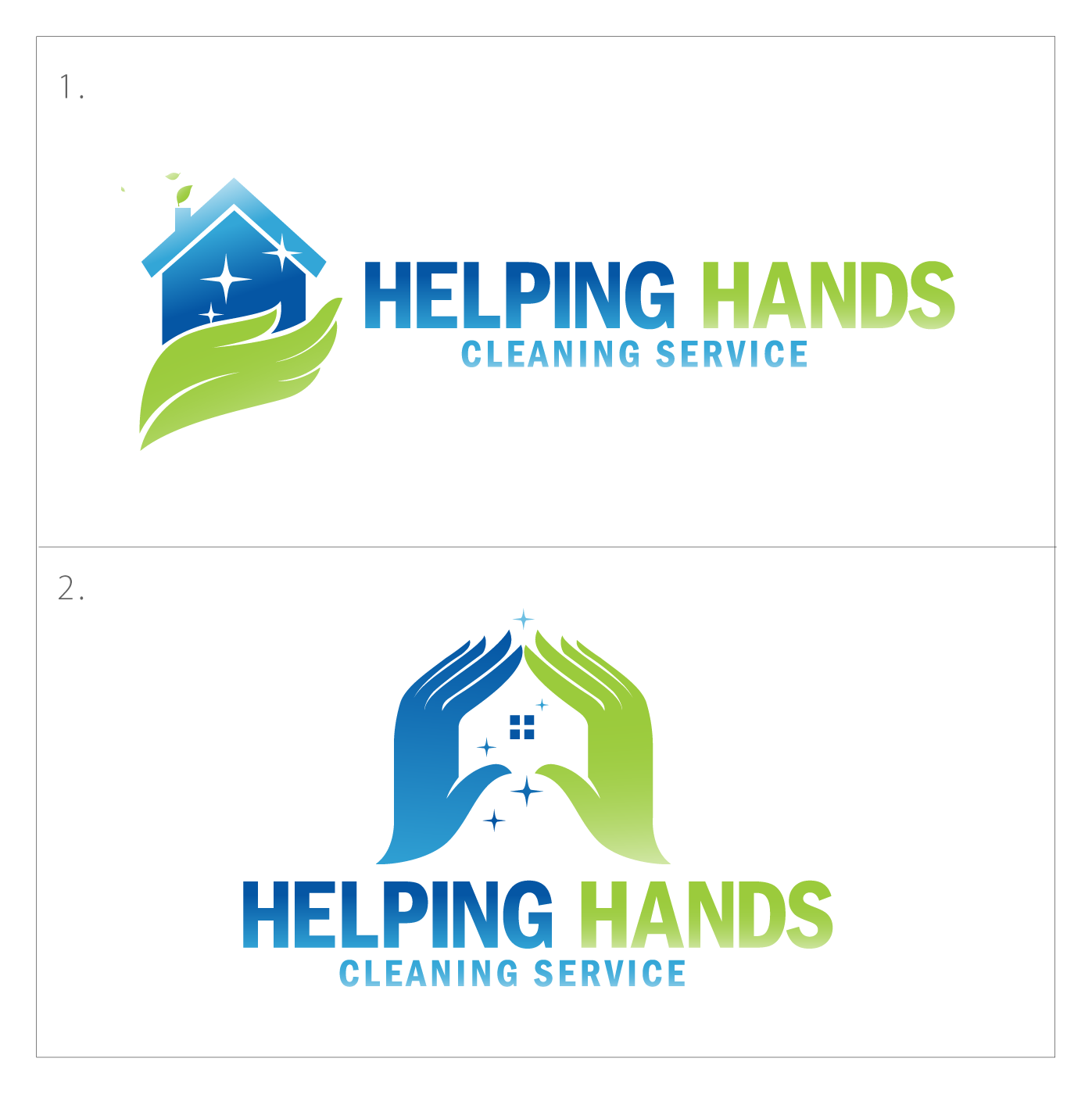 Modern Professional House Cleaning Logo Design For Helping Hands Cleaning Service By Codopoliz Solutions Design 17784840