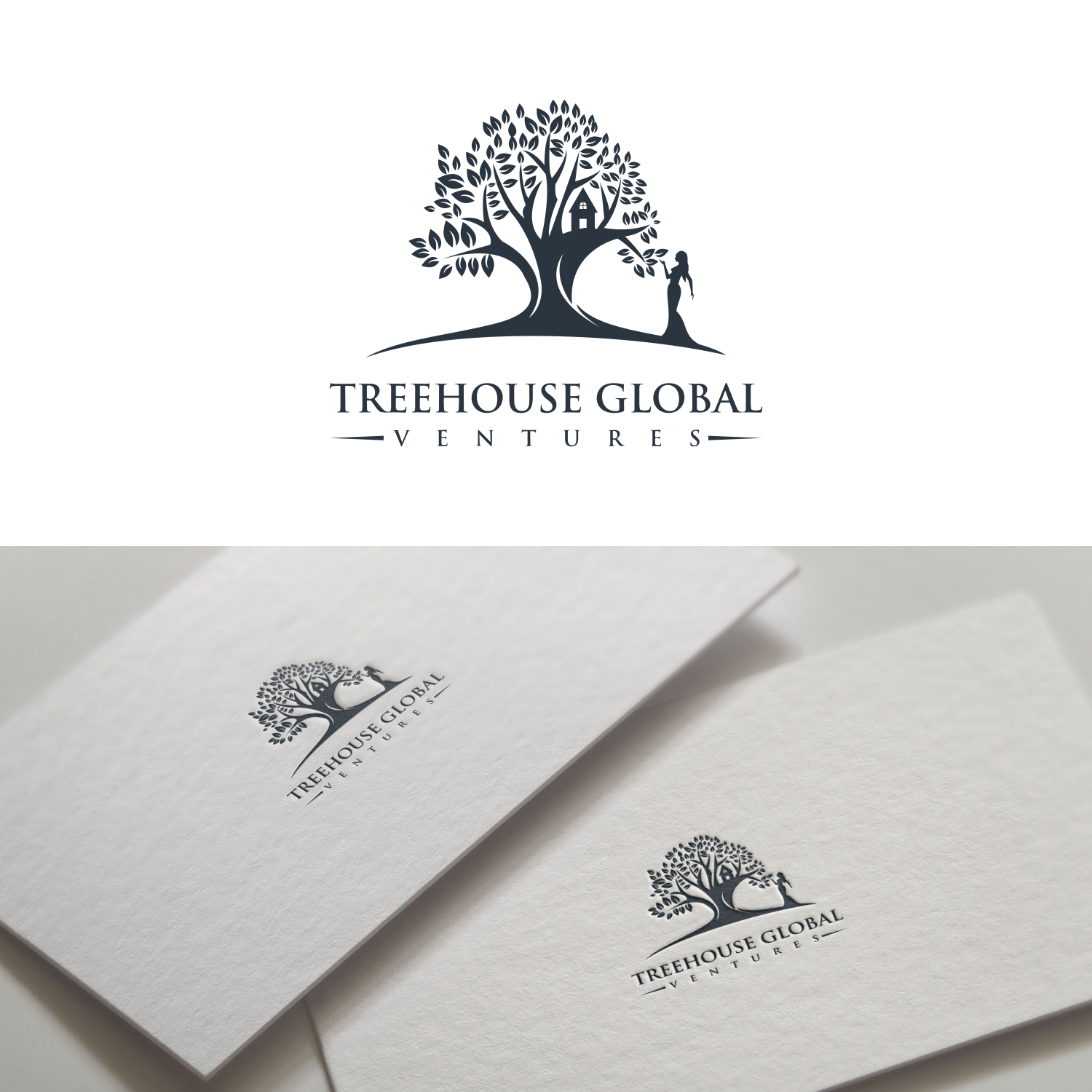Logo Design for a Treehouse Global Ventures by agng_ds