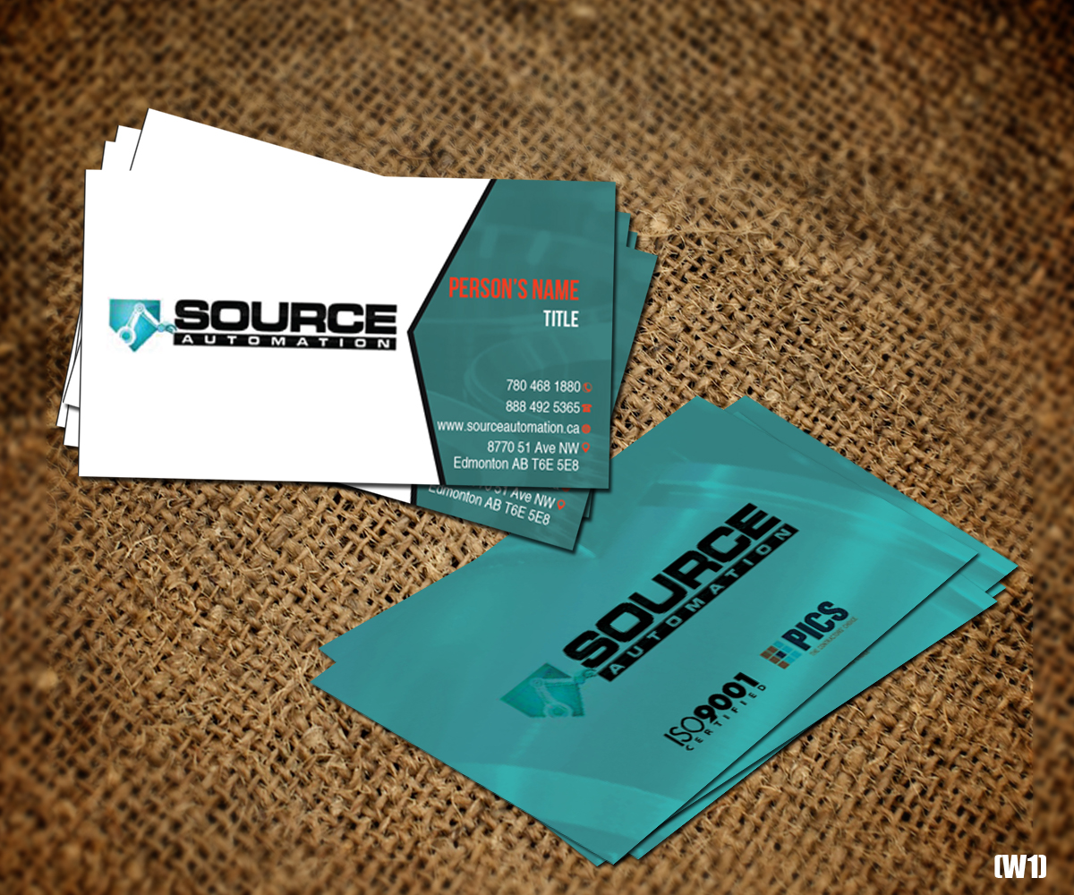 Modern, Colorful, Business Business Card Design for Source ...