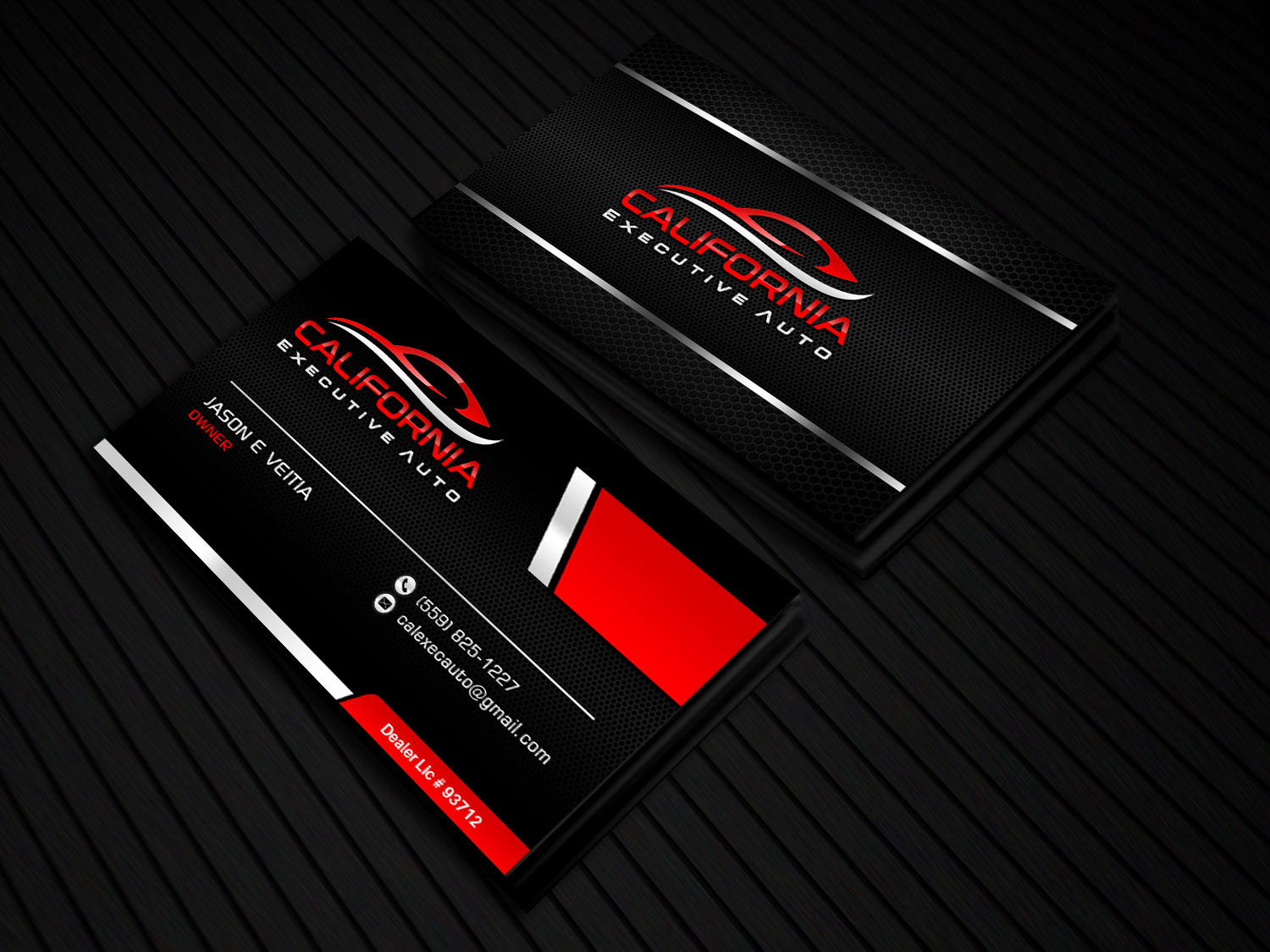 Bold modern automotive business card design for california bold modern automotive business card design for california executive auto in united states design 17798447 reheart Choice Image