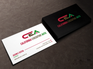 Dealership business card designs 8 dealership business cards to browse california executive auto cal exec auto cea etc business card design by colourmoves