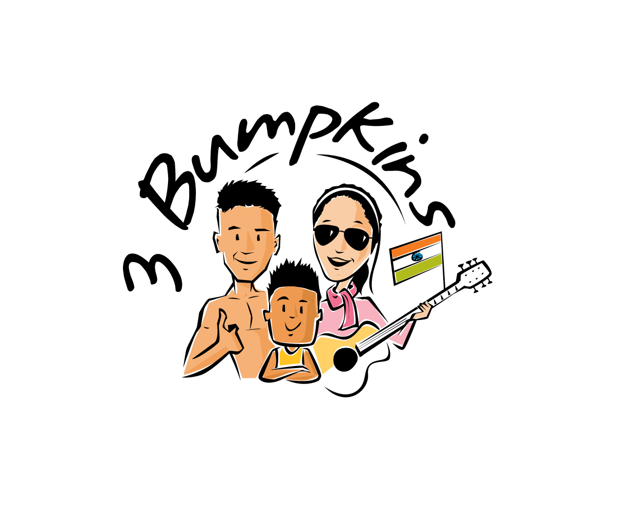 3 Bumpkins YouTube Logo Design by Graphicsexpert