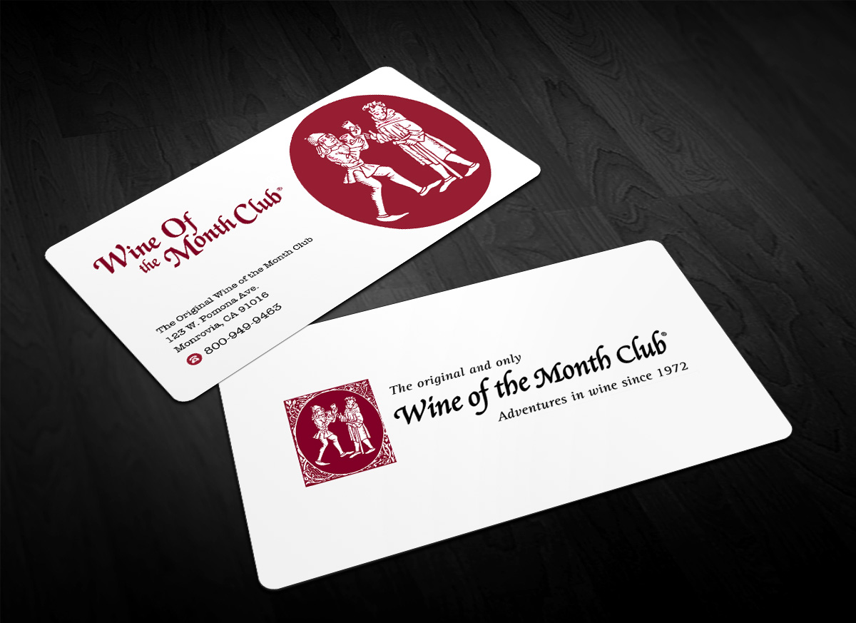Business business card design for wine of the month club by business business card design for wine of the month club in united states design 17795223 colourmoves