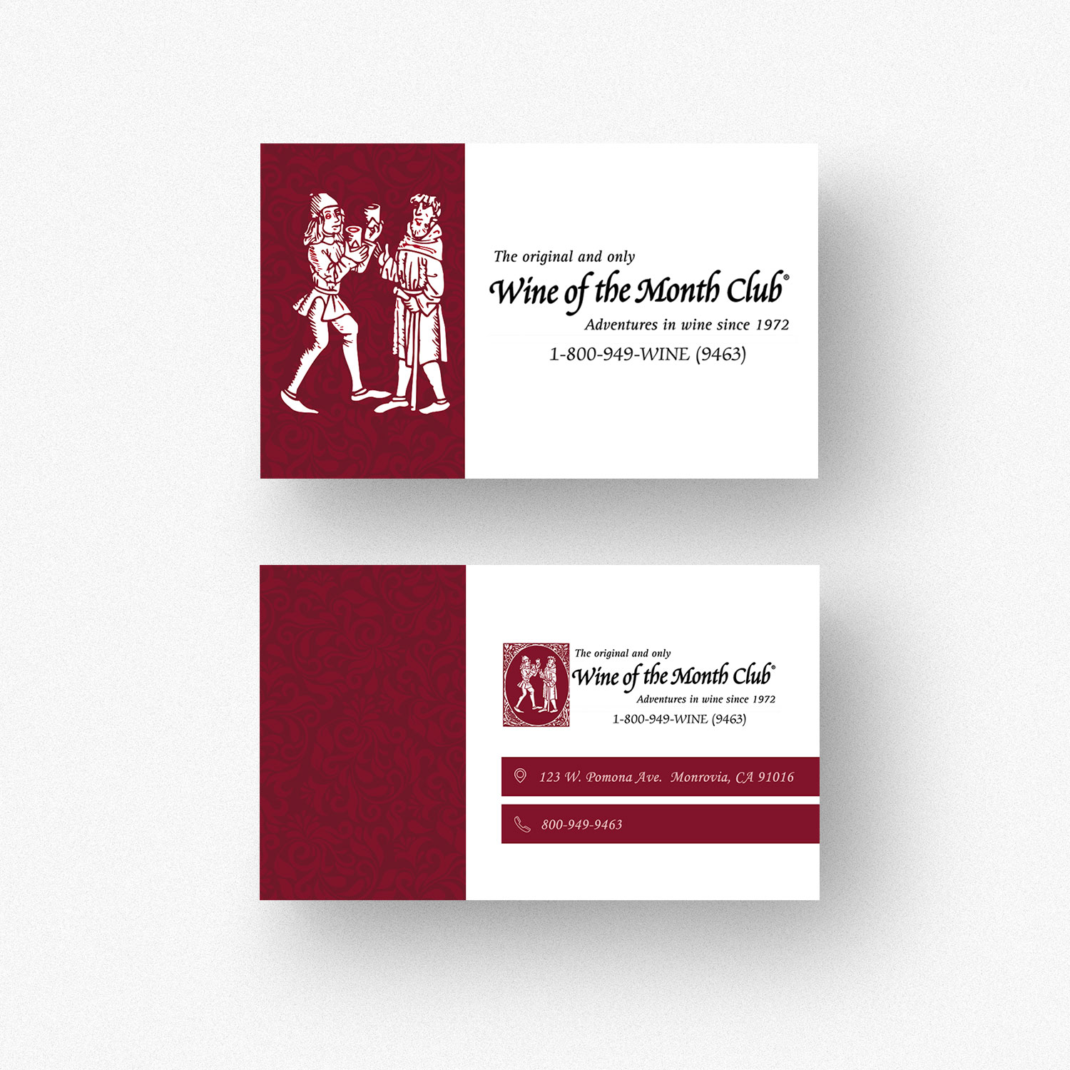 Business business card design for wine of the month club by feel business business card design for wine of the month club in united states design 17845467 colourmoves