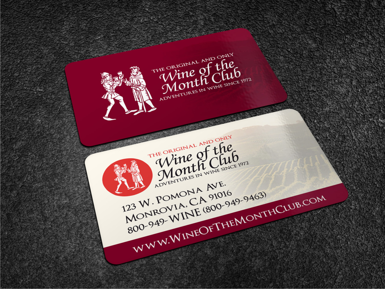 Business Business Card Design for Wine of the Month Club by Atvento ...