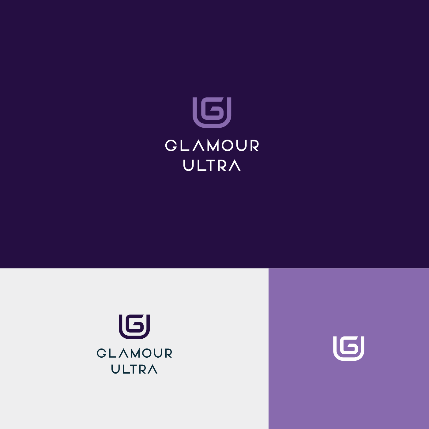 playful modern makeup logo design for glamour ultra by gree
