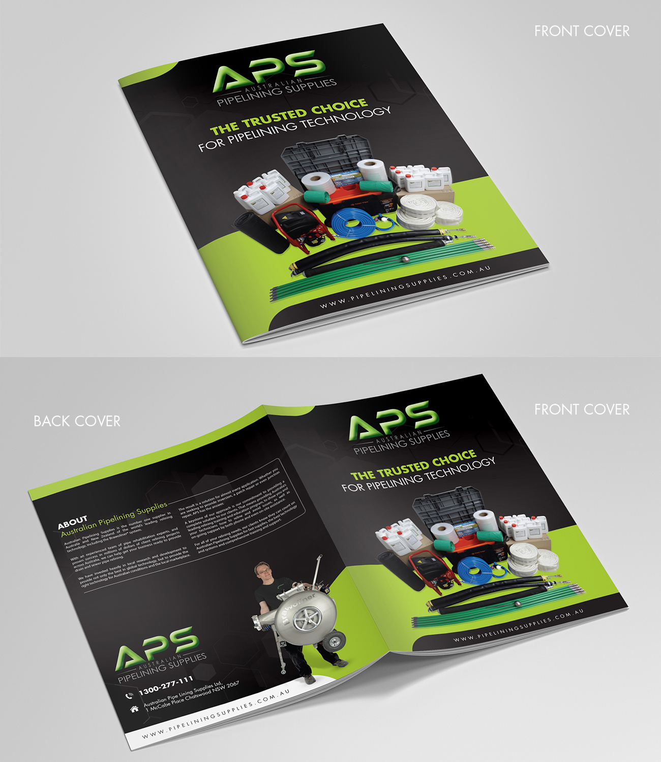 Modern Professional Plumbing Brochure Design For A Company By Debdesign Design 17859317