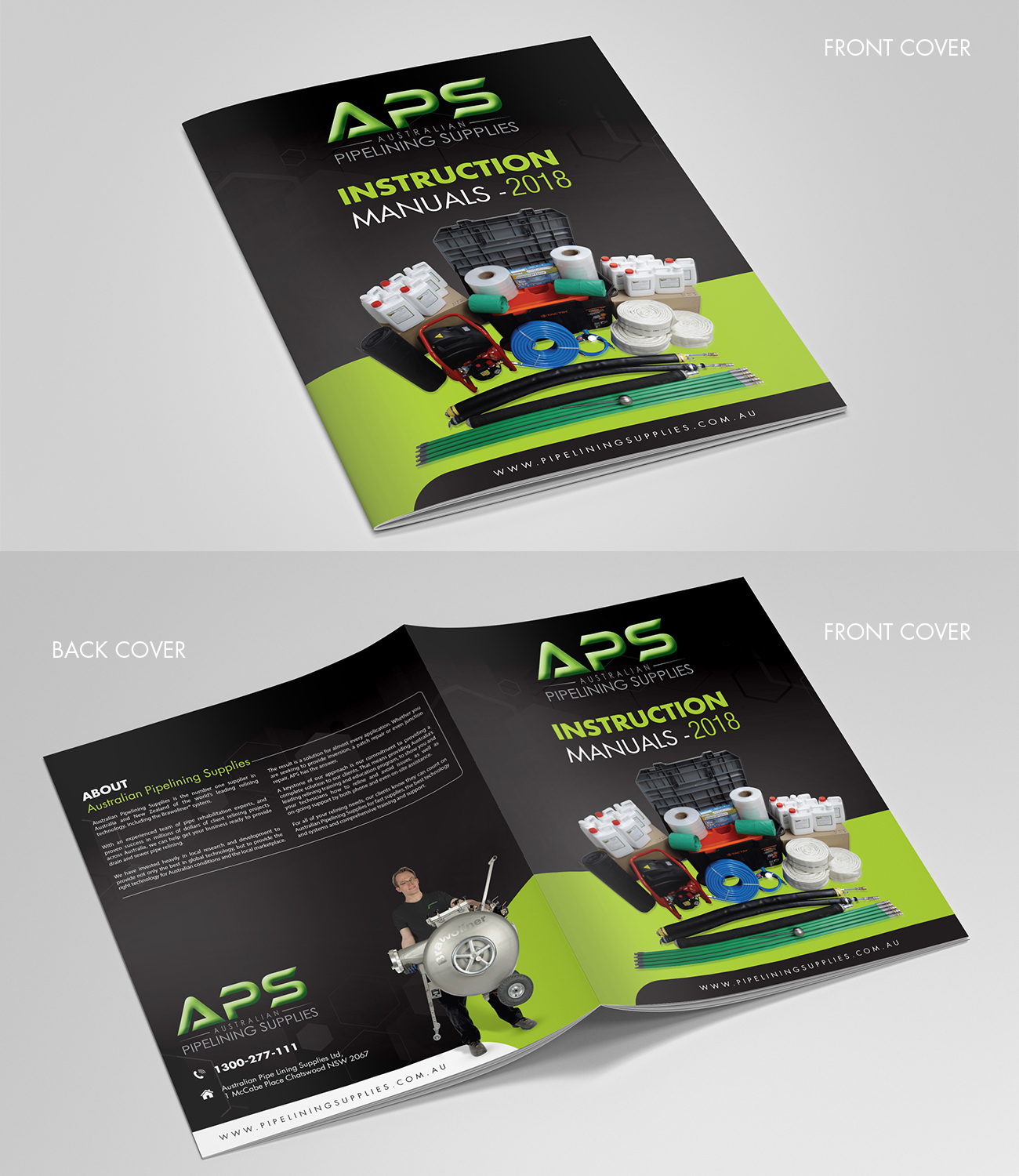 the latest c0711 27610 Modern, Professional, Plumbing Brochure Design for a Company by ...