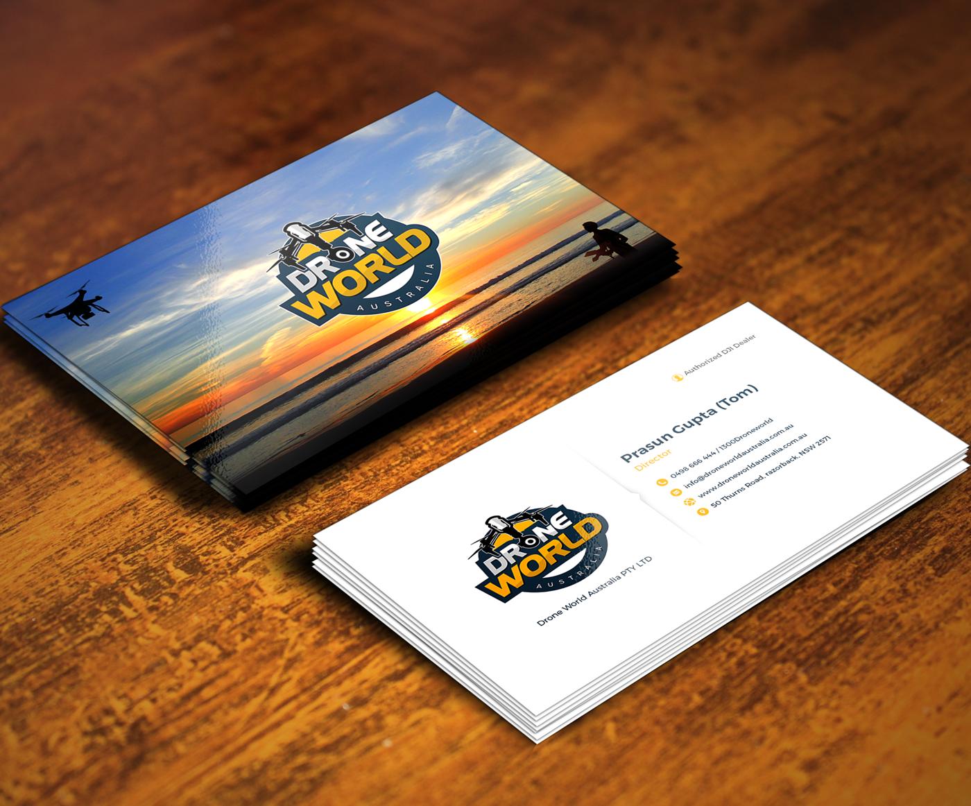 Design De Carte Visite Audacieux Color Business Service Pour A Company En Aux Australia