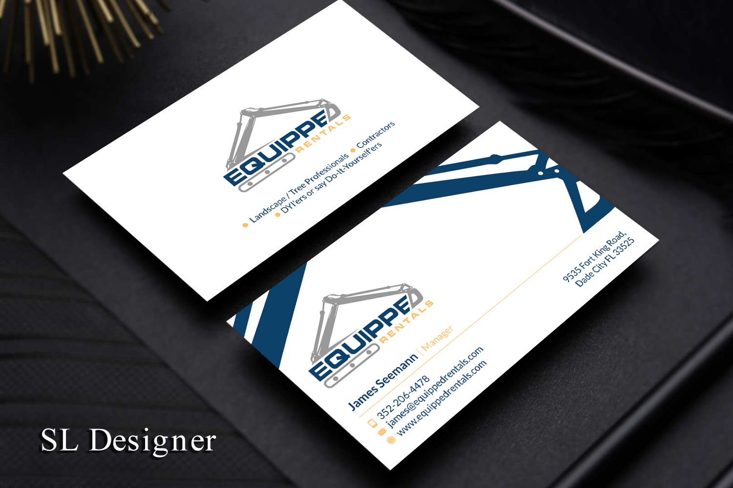 Serious modern business business card design for a company by sl business card design by sl designer for this project design 17809378 solutioingenieria Gallery