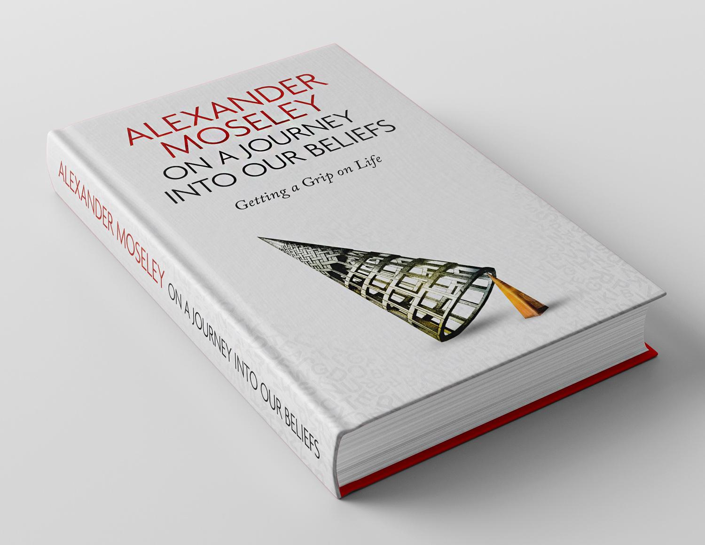 Modern Book Cover : Bold modern book cover design for alexander moseley on