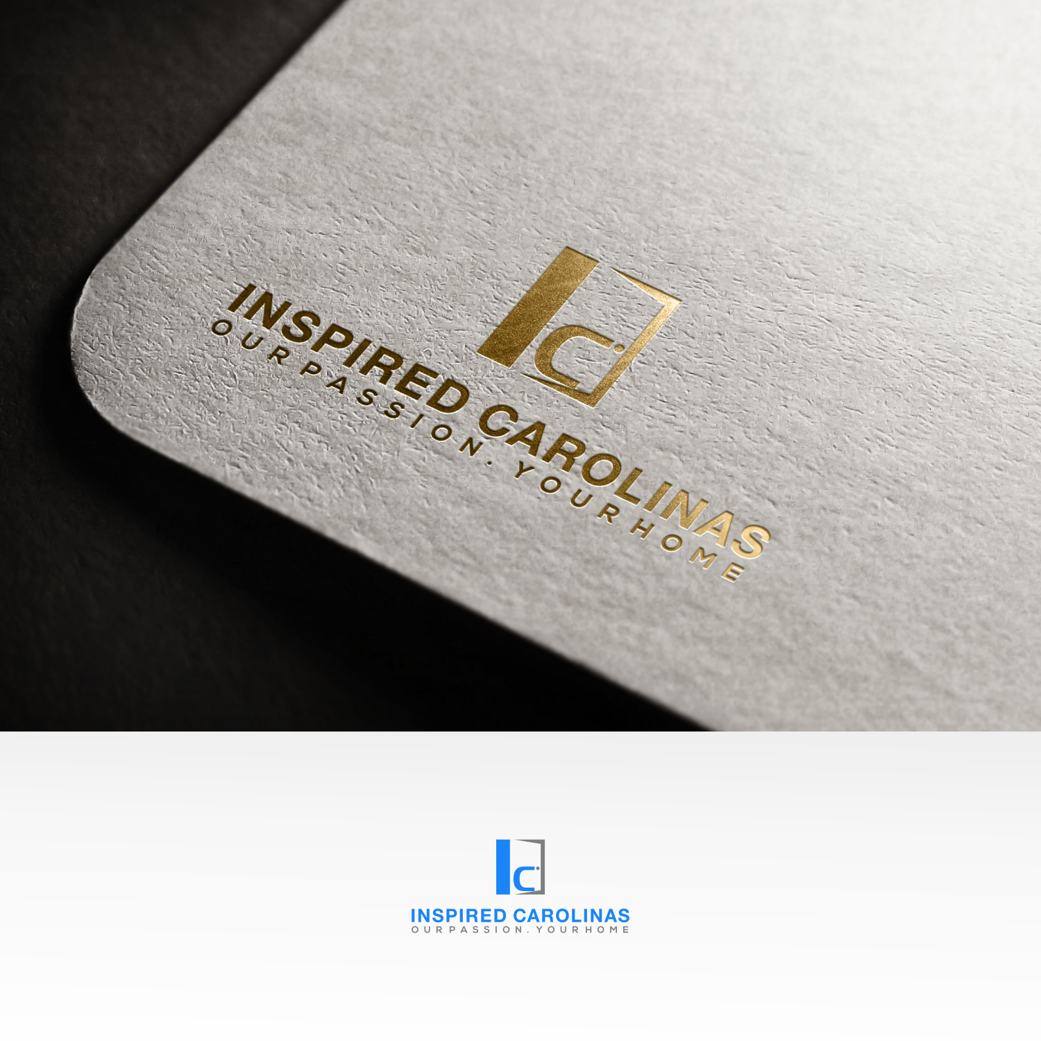 Upmarket, Modern, Realtor Logo Design for Inspired Carolinas \