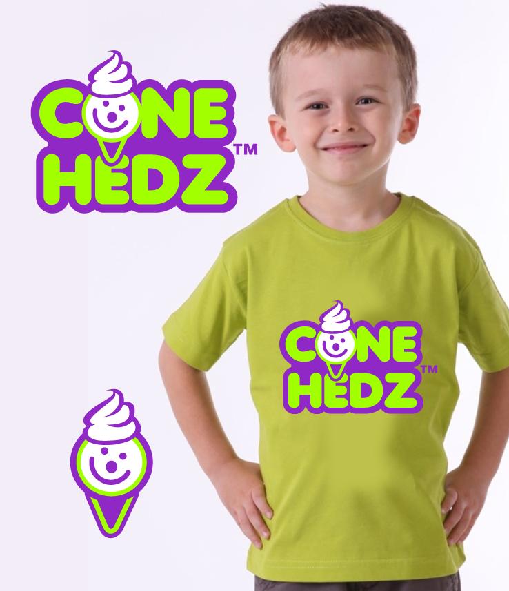 Ice Cream Shops Logos Cone Hedz Ice Cream Shop