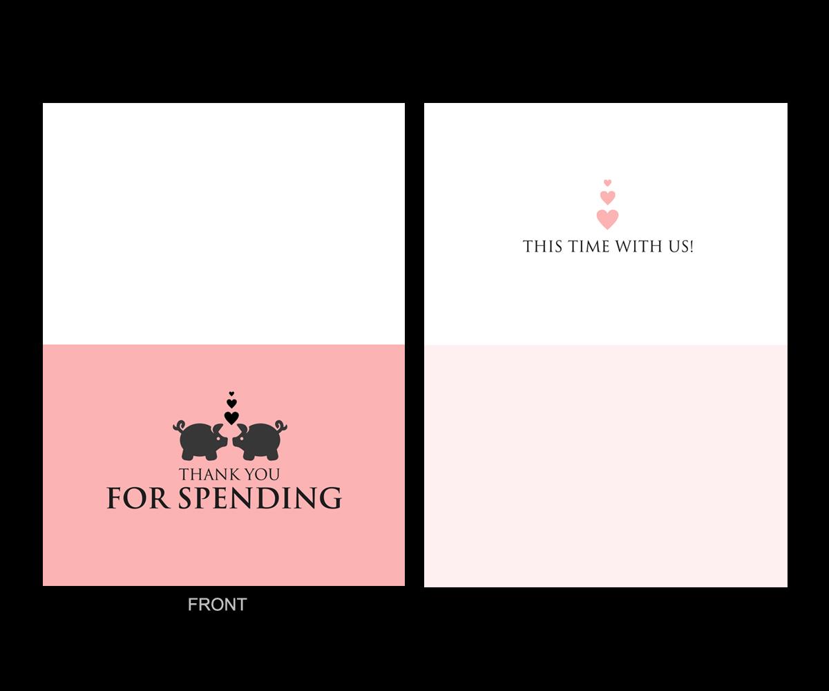 Elegant Playful Wedding Greeting Card Design For A Company By Elo