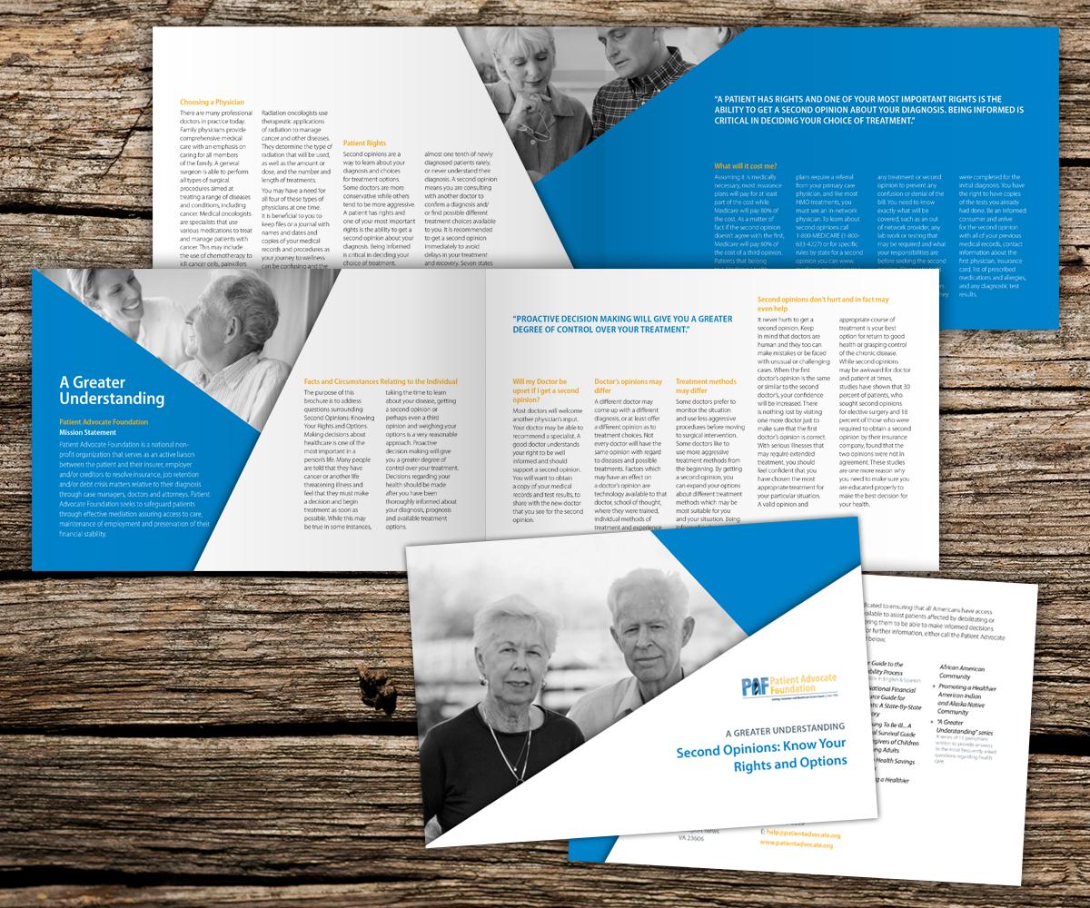 Personable, Elegant Brochure Design for Patient Advocate ...