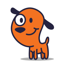 Super Dog Mascot for Digital Marketing Company | Mascot Design by NamiLurihas