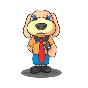 Super Dog Mascot for Digital Marketing Company | Mascot Design by AisyahArt86