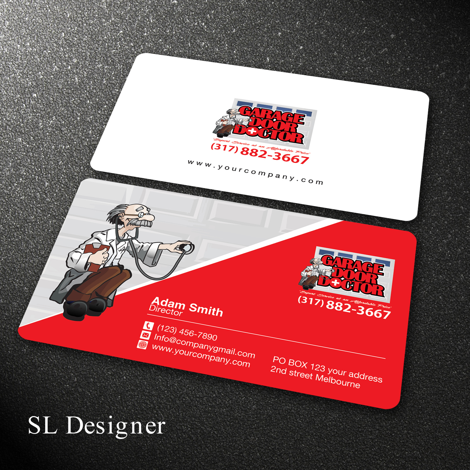 Bold professional business service business card design for a bold professional business service business card design for a company in united states design 17838057 reheart