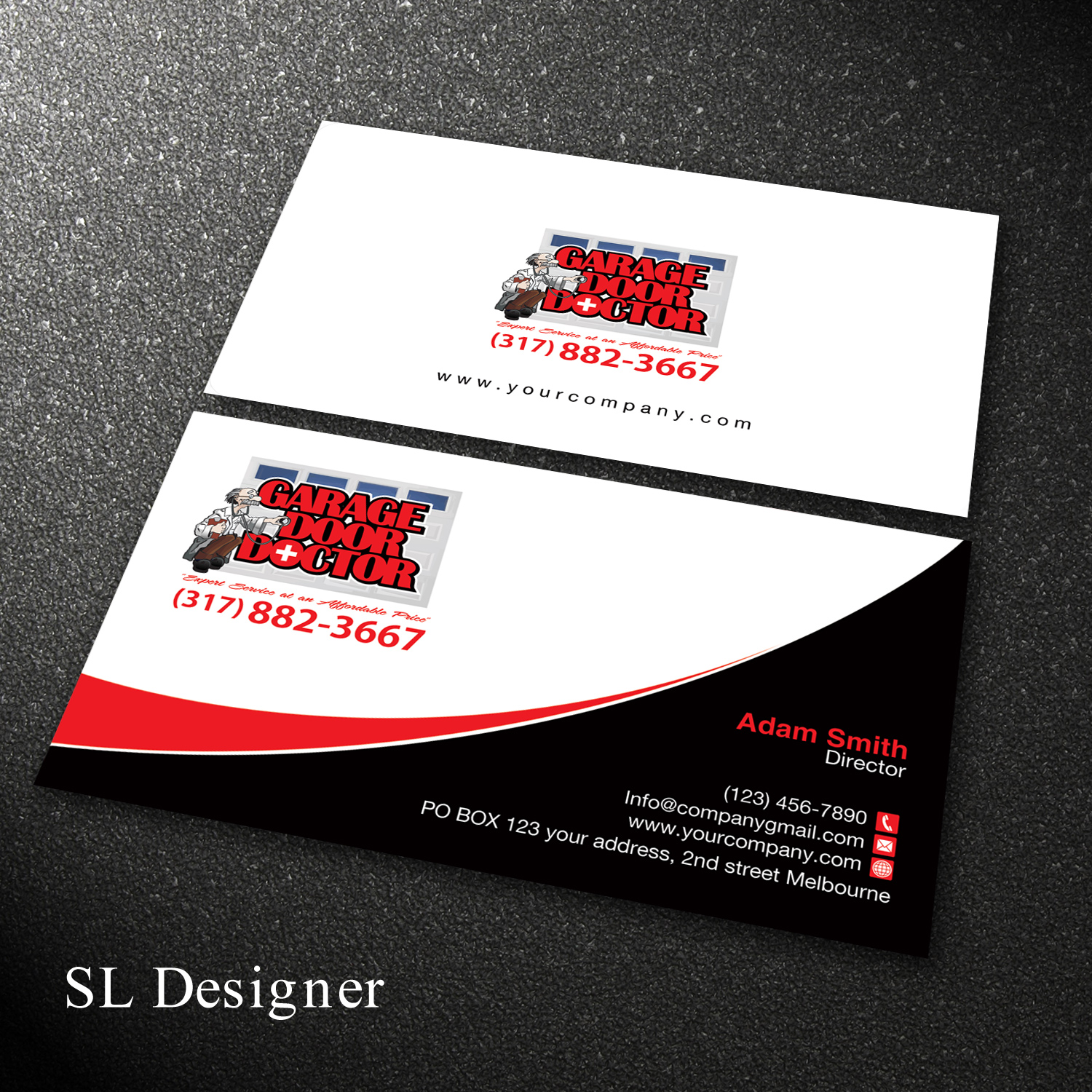 Bold Professional Business Service Card Design For A Company In United States 17838062