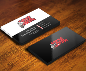 Doctor business card design galleries for inspiration page 3 garage door doctor need professional looking business card printed on plastic commericial industri colourmoves