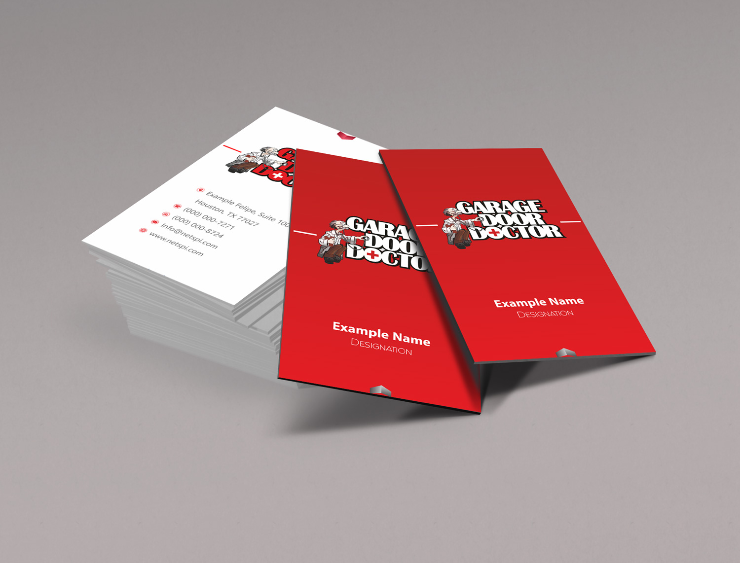 Bold, Professional, Business Service Business Card Design for a ...