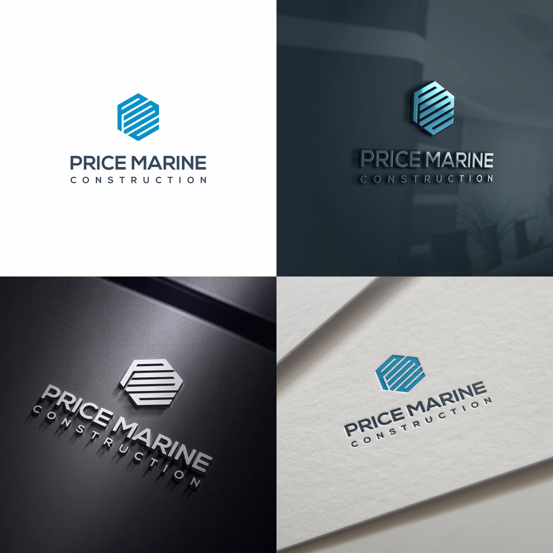Professional masculine marine logo design for price marine logo design by optimisticstudio for price marine construction inc design 17889892 reheart Gallery