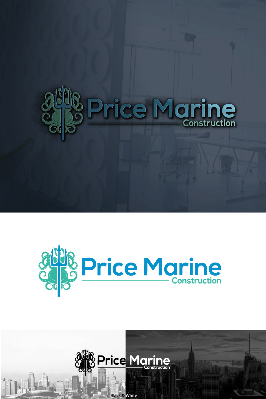 Professional, Masculine, Marine Logo Design for Price Marine