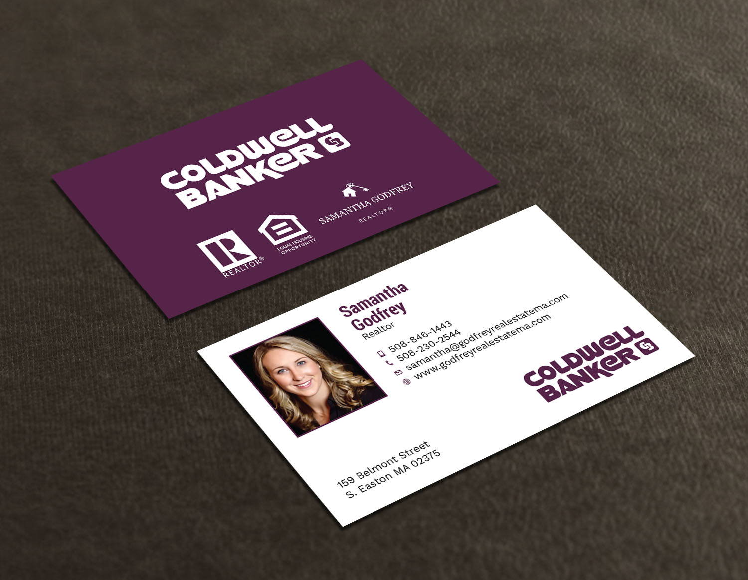 Modern professional real estate agent business card design for business card design by avanger000 for godfrey auto inc design 17847955 reheart Gallery