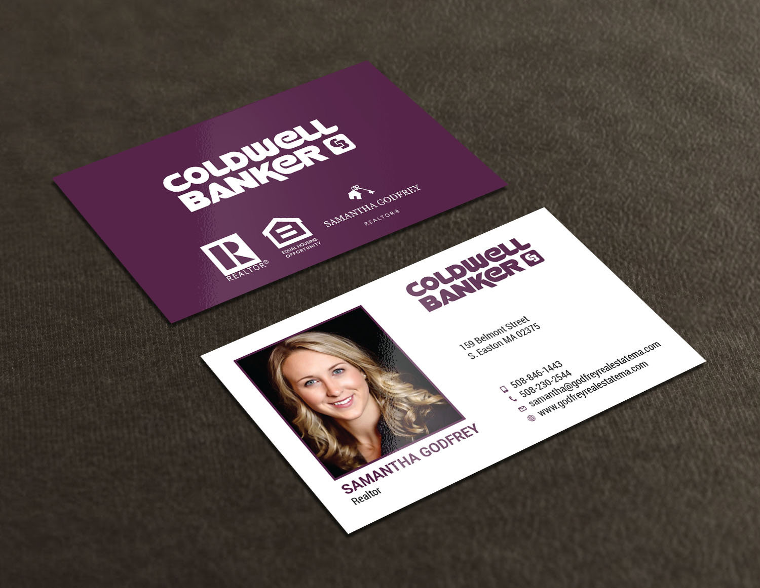 Modern professional real estate agent business card design for business card design by avanger000 for godfrey auto inc design 17847968 colourmoves
