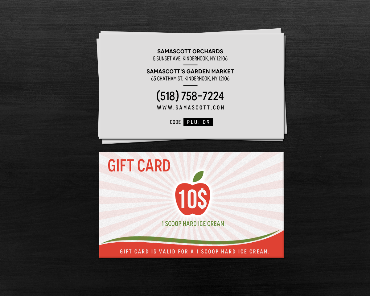 Personable, Colorful, Food Store Business Card Design for ...
