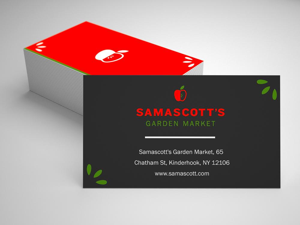Personable, Colorful, Food Store Business Card Design for ... on japanese zen garden, flower garden, design your garden, designing an office,