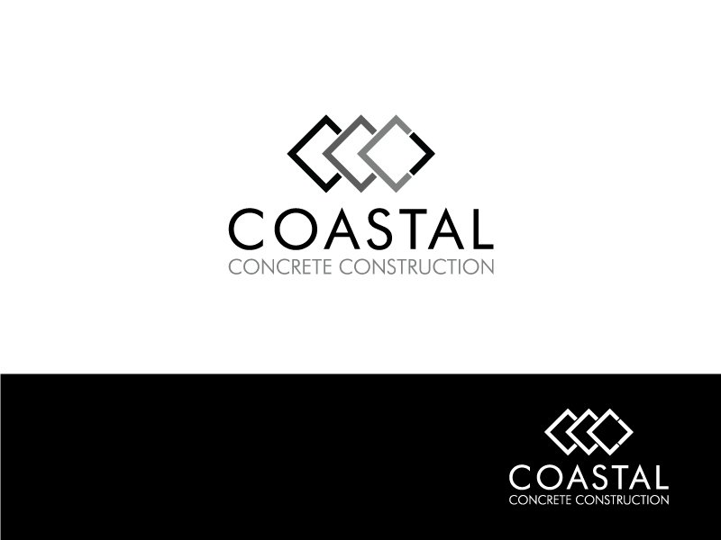 Professional Masculine Construction Company Logo Design For