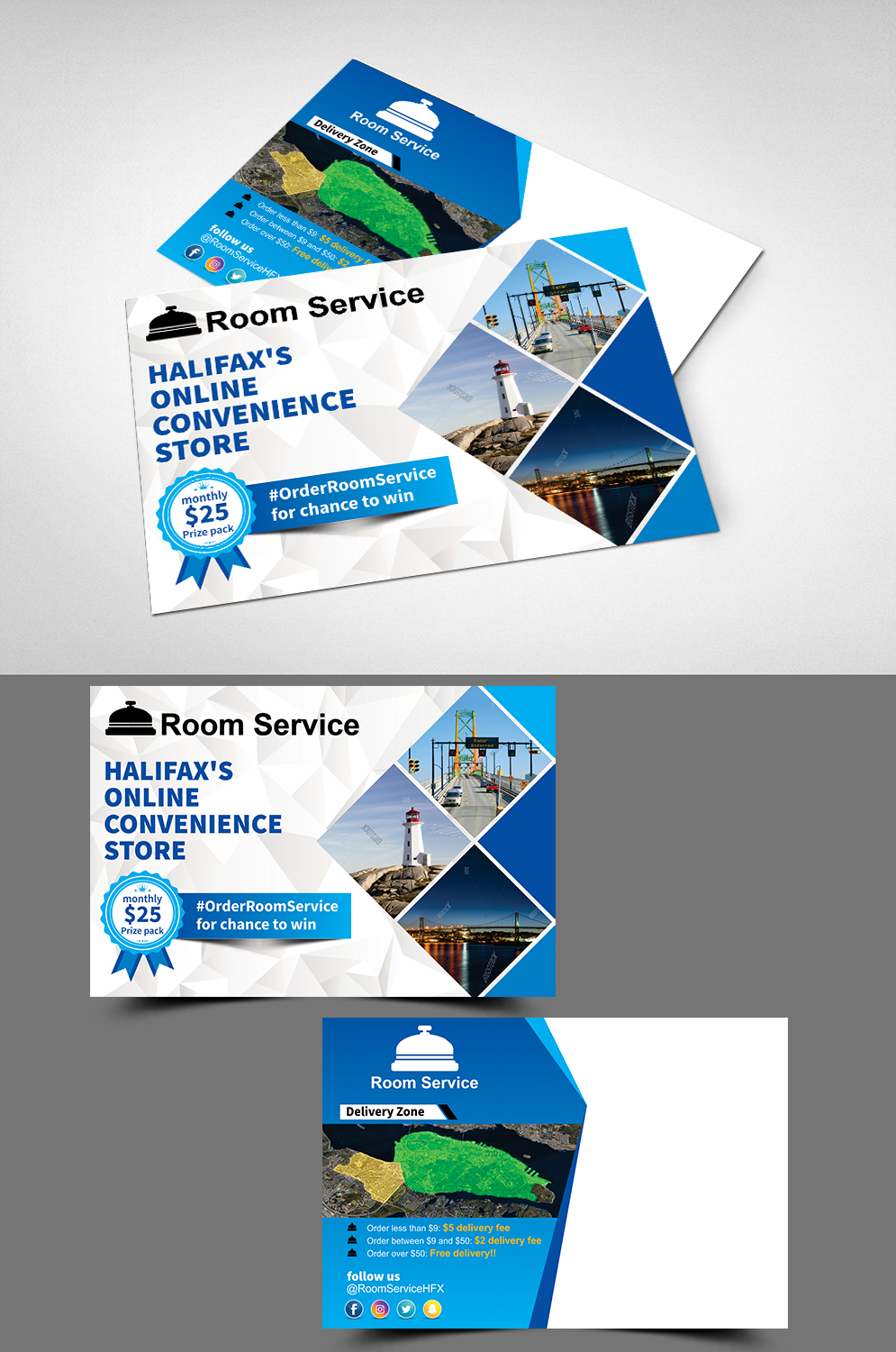 Personable, Bold, Delivery Service Postcard Design for a Company by ...