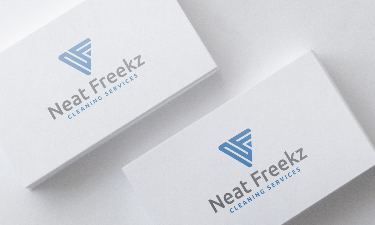 Modern, Bold, Office Cleaning Logo Design for Neat Freekz Cleaning ...