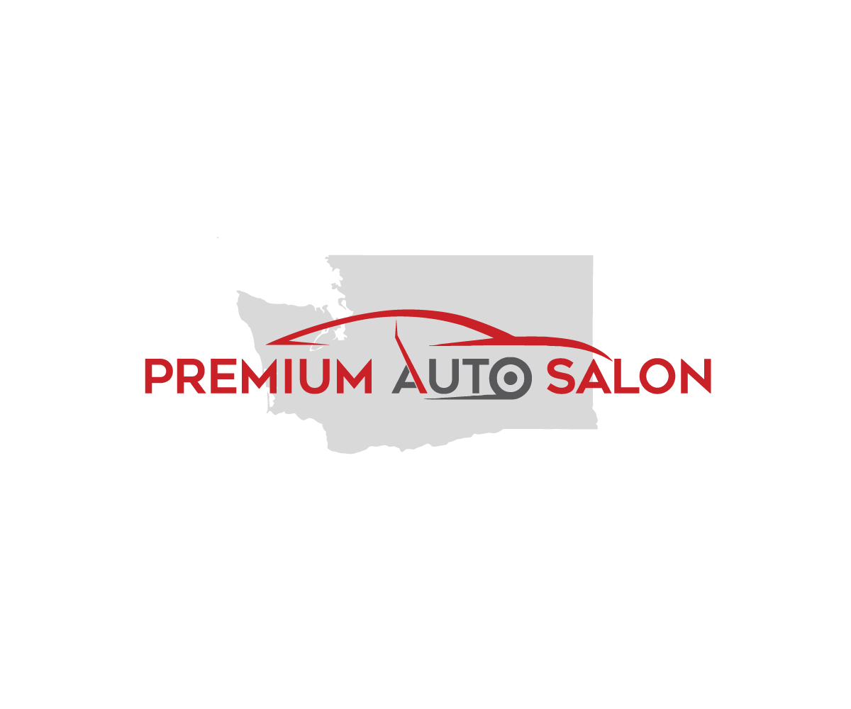 Elegant Playful Automotive Logo Design For Premium Auto Salon By