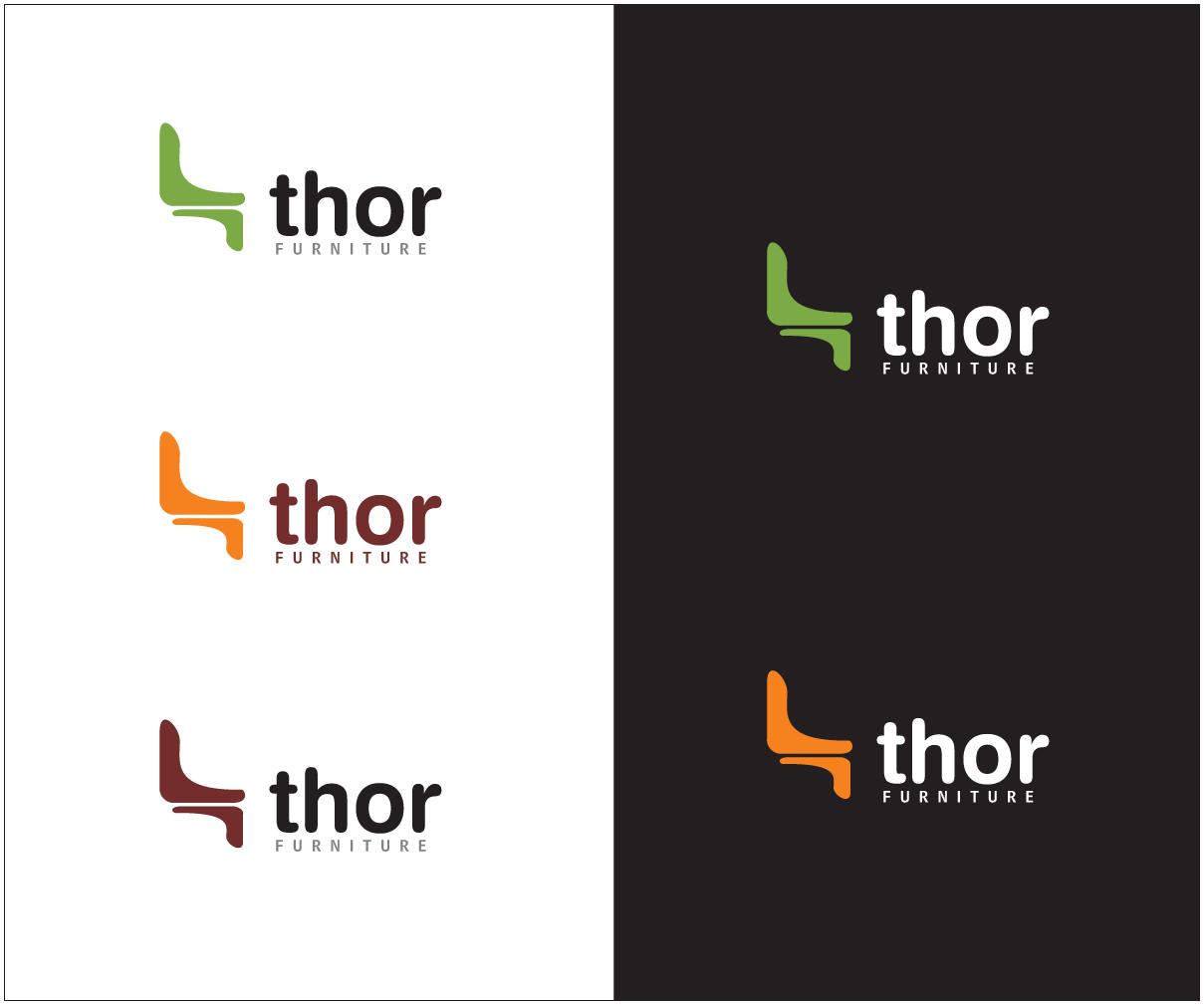 Furniture logo design png - Logo Design By Bijuak For Thor Furniture Division Of Thor Enterprises In Arizona Needs