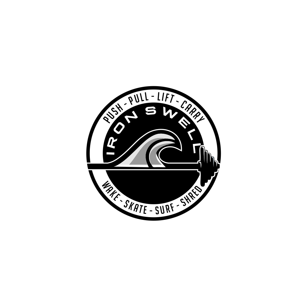 Bold Modern Personal Trainer Logo Design For Iron Swell Co Or